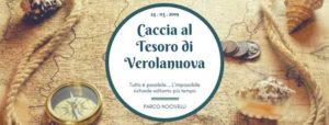 Caccia al Tesoro di Verolanuova con enigmi ed esplorazioni @ Parco Nocivelli | Verolanuova | Lombardia | Italia