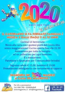 Capodanno in formato famiglia da Mago Mimù @ Mago Mimù | San Zeno Naviglio | Lombardia | Italia