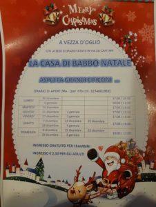 La casa di Babbo Natale a Vezza @ Spazio Fatato a Vezza d'Oglio | Vezza d'Oglio | Lombardia | Italia