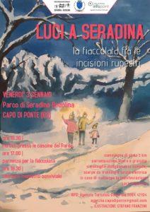 Luci a Seradina @ Parco archeologico Seradina-Bedolina | Capo di Ponte | Lombardia | Italia
