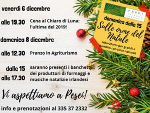 Sulle orme del Natale a Pesei @ Azienda Agricola Pesei loc. Caregno 25060 | Lombardia | Italia