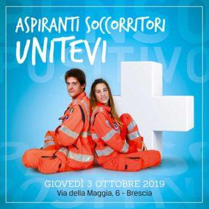 Aspiranti soccorritori unitevi @ Croce bianca di Brescia | Brescia | Lombardia | Italia