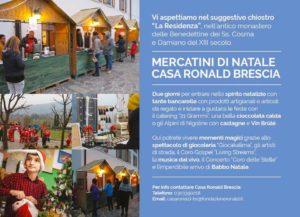 Mercatini di Natale in Casa Ronald @ Fondazione Casa di Dio Onlus | Brescia | Lombardia | Italia