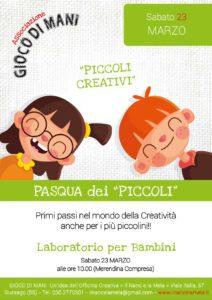 Giocodimani - Pasqua dei Piccoli @ Officina Creativa Il Nano e la Mela | Gussago | Lombardia | Italia