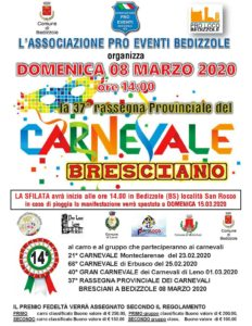 Rassegna del Carnevale Bresciano a Bedizzole @ Bedizzole - località San Rocco | Lombardia | Italia