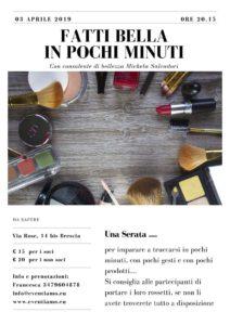 Fatti bella in 5 minuti! @ Let's party Brescia | Brescia | Lombardia | Italia