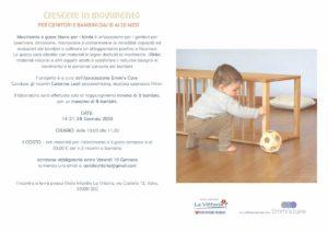 Crescere in movimento 10-20 mesi @ Asilo La Vittoria | Villaggio Badia, Brescia | Italia