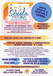 OPEN DAY Scuola Materna Liduina Salvatori di Cazzago San Martino @ Scuola Materna Liduina Salvatori | Passirano | Lombardia | Italia