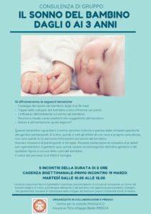Il sonno del bambino 0-3 anni @ Magigioco | Bovezzo | Italia