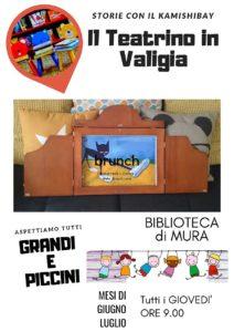 Il teatrino in valigia @ Biblioteca Mura di Palazzolo   Palazzolo sull'Oglio   Lombardia   Italia