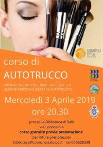 Autotrucco in biblioteca a Salò @ Biblioteca di Salò | Salò | Lombardia | Italia