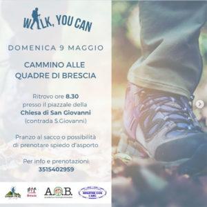 I cammini di Cammina con noi - Brescia @ ritrovo piazzale della Chiesa di San Giovanni | Brescia | Lombardia | Italia