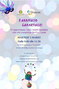 E' arrivato il Carnevale @ spazio gioco Coccimella