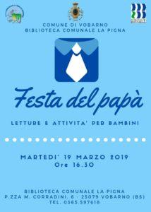 Festa del papà a Vobarno @ Biblioteca Vobarno | Vobarno | Lombardia | Italia