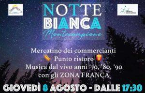 Notte bianca a Montecampione @ Plan di Montecampione | Artogne | Lombardia | Italia