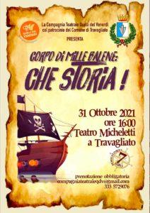 Travagliato - Corpo di mille balene: che storia! @ teatro Micheletti | Brescia | Lombardia | Italia