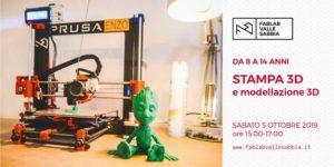 Stampa 3D e modellazione 3D @ FabLab Vallesabbia | Villanuova Sul Clisi | Lombardia | Italia