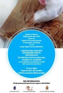 Coloriamo con il cioccolato @ Spazio Crescendo Insieme