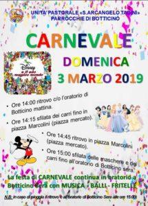 Carnevale a Botticino @ Botticino