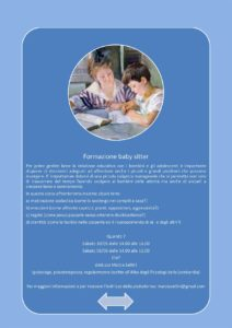 Formazione per baby-sitter @ dott.ssa Sellini - online | Brescia | Lombardia | Italia