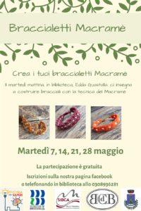 Crea i tuoi braccialetti macramè @ Biblioteca di Sarezzo | Lumezzane | Lombardia | Italia