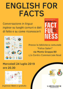 English for facts @ Biblioteca Lumezzane | Lumezzane | Lombardia | Italia