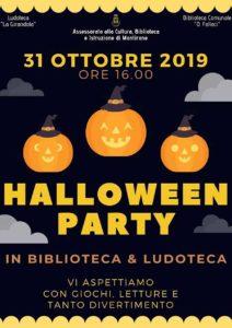 Halloween in biblioteca a Montirone @ biblioteca Montirone | Montirone | Lombardia | Italia