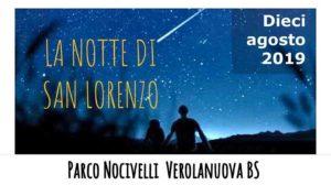 Luci spente nel Parco per osservare le Stelle Cadenti @ Parco Nocivelli | Verolanuova | Lombardia | Italia