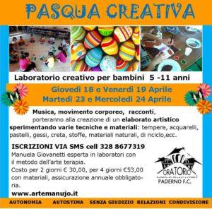 Pasqua Creativa @ oratorio Paderno FC