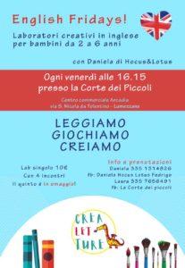 English Fridays @ Centro commerciale Arcadia Lumezzane