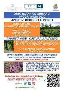 Passeggiata e degustazione all'orto di Toscolano @ Orto botanico Toscolano Maderno | Toscolano Maderno | Lombardia | Italia