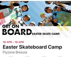 Easter Skate Camp @ FlyZone Outdoor Skatepark