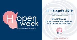 H-OPEN WEEK SALUTE DELLA DONNA @ ospedali aderenti