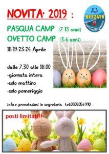 Pasqua e Ovetto Camp @ Sporting Club Rezzato