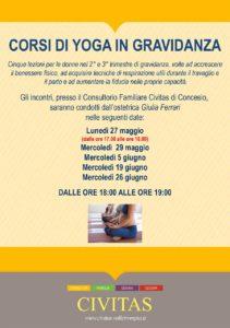 Corso di Yoga in gravidanza @ Civitas Concesio