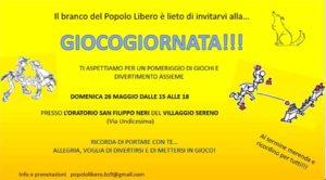 Giocogiornata @ oratorio San Filippo Neri (vill. Sereno)