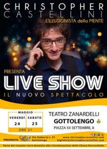 Spettacolo illusionista @ Teatro Zanardelli di Gottolengo