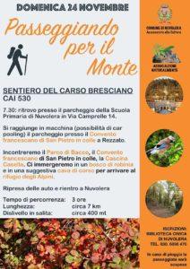 Camminata sul Carso Bresciano @ ritrovo scuola Primaria Nvuolera   Prevalle   Lombardia   Italia