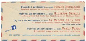Un uomo in viaggio @ Castello di Padernello | Padernello | Lombardia | Italia