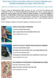 Estate Gardesana - Aperture straordinarie @ Piazza Nassiriya, Piazza San Marco, Toscolano Maderno BS