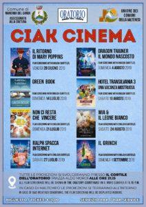 Ciak Cinema @ Oratorio di Manerba
