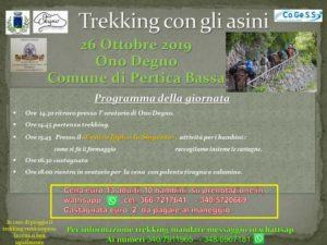 Trekking con gli asini in Pertica Bassa @ oratorio Ono Degno   Lemprato   Lombardia   Italia