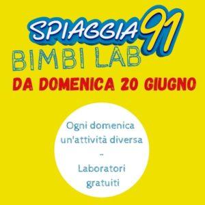 Rezzato - Laboratori gratuiti  con Spiaggia91 BimbiLab @ Spiaggia 91   Rezzato   Lombardia   Italia
