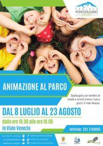 Animazione al parco a Ponte di Legno @ Parco giochi viale Venezia Ponte di Legno | Ponte di Legno | Lombardia | Italia