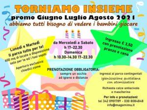 Torniamo insieme da Mago Mimù @ Mago Mimù | San Zeno Naviglio | Lombardia | Italia