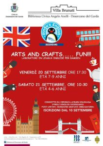 Arts and crafts... fun! @ Biblioteca di Desenzano del Garda