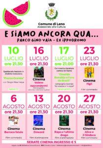 Leno - Cinema sotto le stelle 2021 @ Leno   Agnosine   Lombardia   Italia