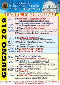 Feste patronali a Virle Treponti @ parrocchia Santi Pietro e Paolo Virle Treponti