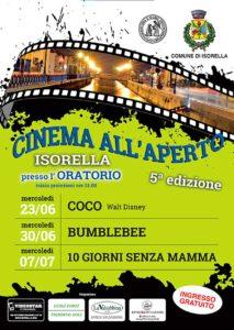 Cinema all'aperto Isorella @ oratorio Isorella | Isorella | Lombardia | Italia