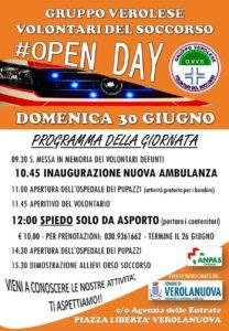 Open Day Gvvs @ Verolanuova